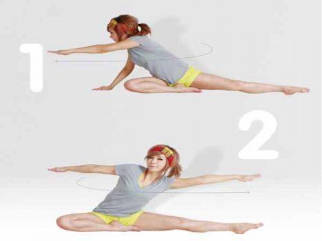 Các bài tập bụng cho nữ giúp giảm mỡ bụng có vòng eo lý tưởng