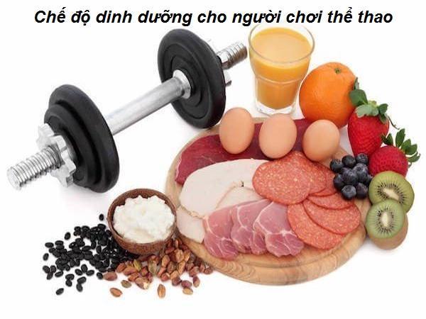 Những lưu ý về dinh dưỡng khi tập thể thao, tập gym